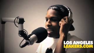 A$AP Rocky L.A. Leakers Freestyle