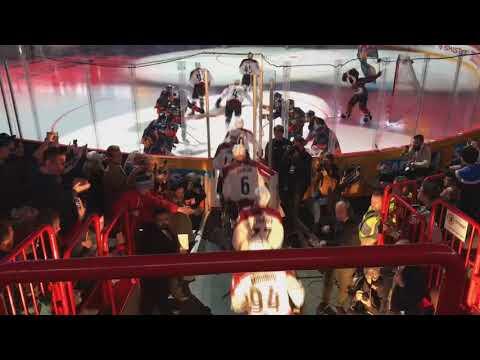 NHL Global Series 2017 Colorado Avalanche - Ottawa Senators Intro 11.11.2017