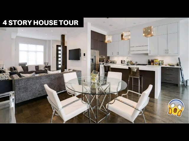 FOUR STORY FURNISHED HOUSE TOUR 2019
