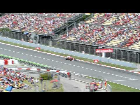 F1 Montmelo GP 2011 - Vista Tribuna A