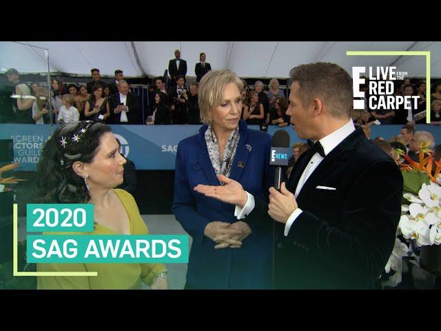 """Alex Borstein & Jane Lynch Spitball Plots for \""""Mrs. Maisel\"""" Season 4   E! Red Carpet & Award Shows"""