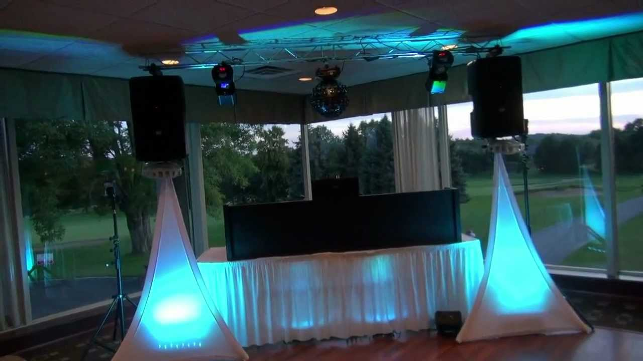 Wedding With Adj Dura Truss Mounted On The Rcf 312a