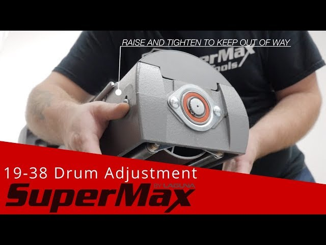 19-38 Drum Alignment Tutorial | Laguna Tools