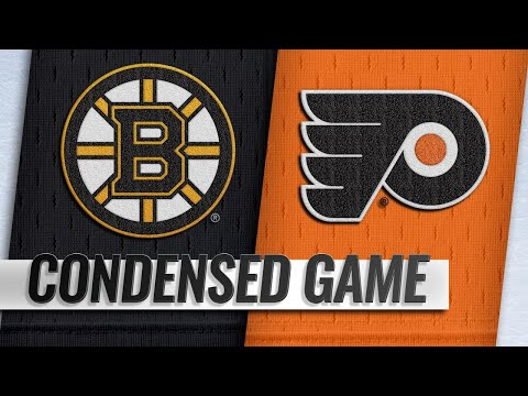 01/16/19 Condensed Game: Bruins @ Flyers