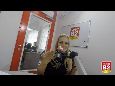 """Video Der neue """"Sturm der Liebe""""-Star Jenny Löffler bei radio B2"""