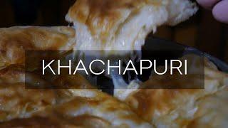Ачма | слоеный пирог с сыром | грузинская выпечка | хачапури