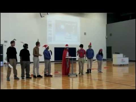 West Michigan Aviation Academy Holiday Assembly