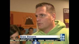 KLAS TV interviews Josh Stevens Foundation