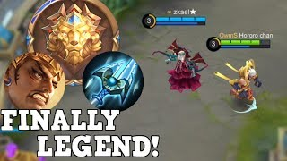 LEGEND WITH GATOT USING WINTER TRUNCHEON