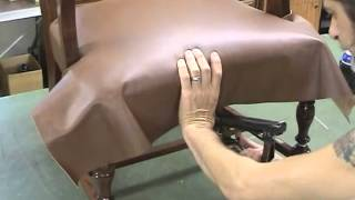 Upholstery - Horse Hair And Leather Part 2