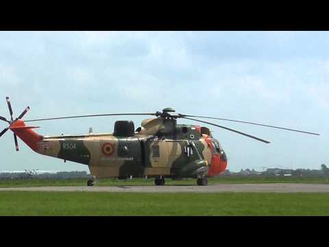 Westland Sea King MK 48 START-UP + takeoff [HD]