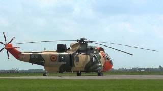 Westland Sea King MK 48 startup + takeoff [HD]