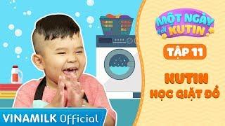 Một Ngày Với Ku Tin - Tập 11 - Ku Tin Học Giặt Đồ