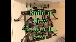 Make a Compound Bow Rack for $20 | Archery | DIY