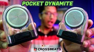 Best Transparent Bluetooth Speaker | Crossbeats Dynamite DUO 2019 | Pocket DYNAMITE | Data Dock
