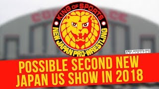 Possible Second New Japan US Show In 2018