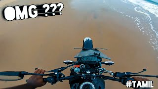 Almost Got Stuck | Riding Hero Xpulse200 In Beach😲 | Gokarna Vlog  தமிழில்