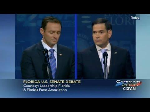 Rubio vs Murphy U S Senate Florida Debate 10-26-16