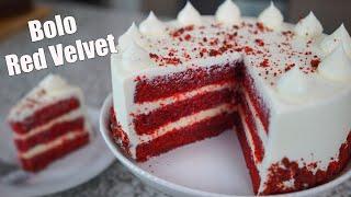 Massa Especial de Bolo Red Velvet – Muito Gostoso
