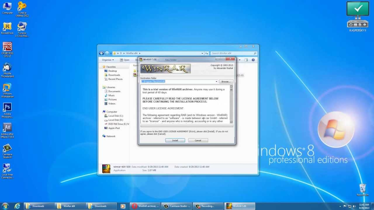 winrar 5.4 serial key