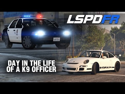LSPDFR SP E79 - Day in the Life of K9 Officer (Porsche GT3RS & Crown Vic PI)