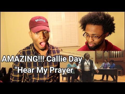 (REACTION) Hear My Prayer - Cover by Callie Day