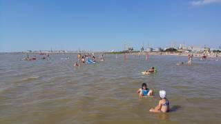 видео Ейск - отдых на Азовском море, сезон 2017