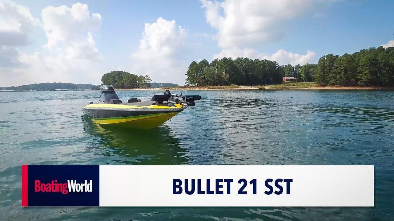 Bullet 21 SST – Boat Test