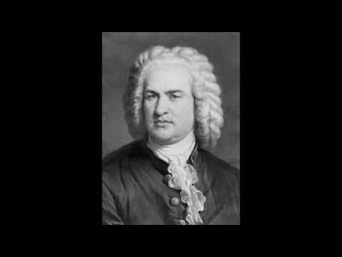 J S Bach Trio Sonata e   minor, BWV 528, part I -  Inégalité