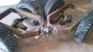 Минитрактор -рама,ходовая часть