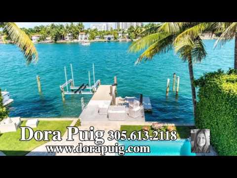 Venetian Island Waterfront Villa - 227 E Dilido Dr, Miami Beach Luxury Home
