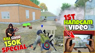 🥺 I Missed Chicken Dinner   150K Special 1st Handcam Gameplay Pubg Mobile - Kill Chor