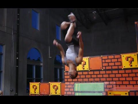 Learning Free Running - Ninja Warrior Training - Day 3