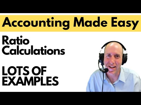 FA 52 - Financial Ratio Calculations and Analysis