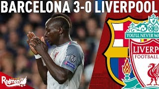 ... chris gives you his thoughts after liverpool were beaten by barcelona in the first leg of ch...