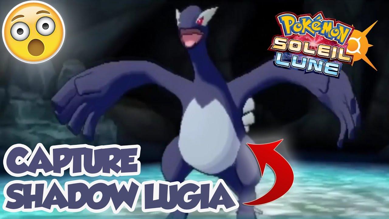 Epic Capture Dark Shadow Lugia Dans Pokemon Soleil Et