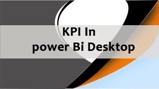 Download Kpi Indicator Custom Visual In Power Bi Desktop