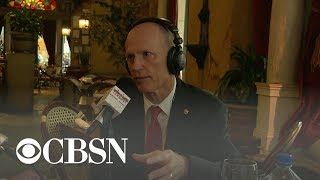 Sen. Rick Scott says .Cuban thugs. are at the heart of Venezuela crisis Republican Sen. Rick Scott of Florida joins CBS News' Major Garrett on .The Takeout. for a discussion on the political crisis in Venezuela., From YouTubeVideos