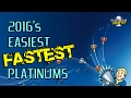 2016's Easiest & Fastest PS4 Platinums - 25 Games Under 5 Hours Each!