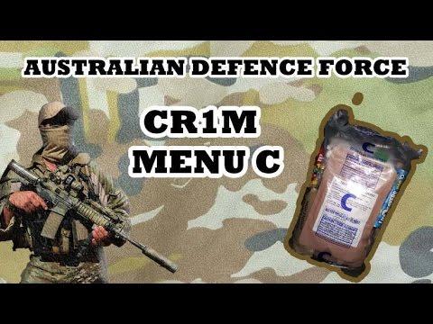 Australian Defence Force Combat Ration One Man (MENU C)