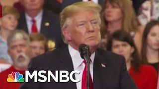 For Fact's Sake: President Donald Trump's Nashville Rally Lies | Velshi & Ruhle | MSNBC