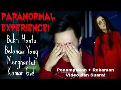 Paranormal Experience : Rekaman Video dan Suara Hantu Belanda Penunggu Kamar Gw!
