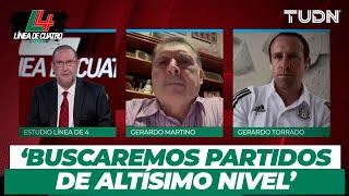 ¿Cuándo regresará la Selección Mexicana? El 'Tata' Martino y Gerardo Torrado responden | TUDN