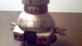 Black Hole Vincent walking robot by Marx toys 1979