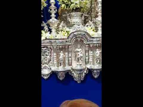 Hermandad de la resurrección, virgen de la aurora saliendo de la catedral 2017