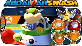 Mario Tennis Aces - ALL Tournament Trophies With Bowser Jr! [Nintendo Switch]