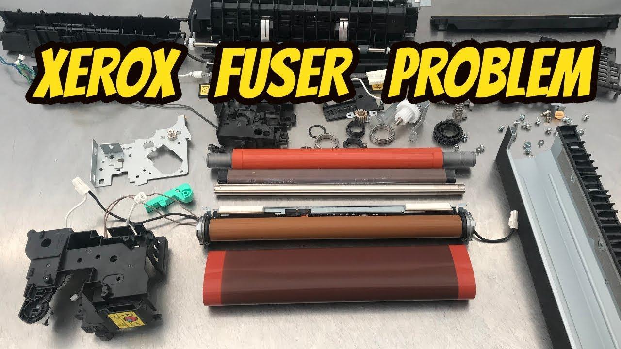 Fuser Error Xerox Workcentre Tutorial For Service Youtube