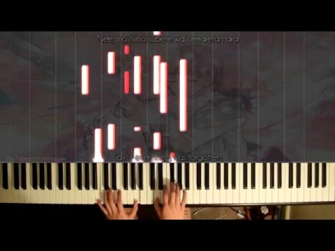 「Gumi」- Kokoronashi/Somehow 心做し (piano) ~ // Chouchou-P