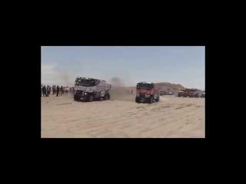 Dakar 2018 2 Renault Trucks K 520 On The Beach