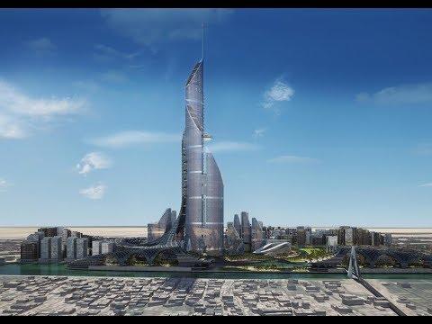 The Bride Tower Iraq-1,152 meter tall-230 story-  Beat the  Kingdom Tower and Dubai's Burj Khalifa
